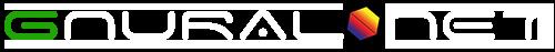 Gnural Net Company Logo - WhiteText